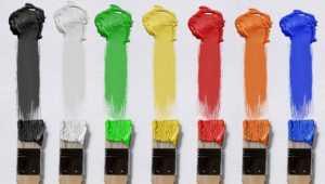 brush, color, canvas